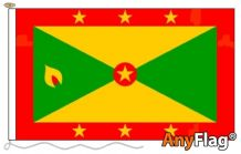 - GRENADA ANYFLAG RANGE - VARIOUS SIZES